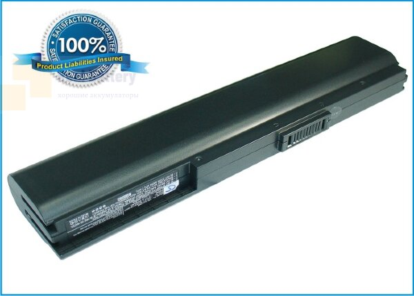 Аккумулятор CS-AUU1NB для Asus Eee PC 1004  11,1V 4400mAh Li-ion