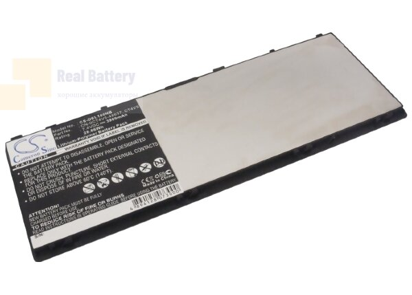 Аккумулятор CS-DEL100NB для DELL C5621  7,4V 3900mAh Li-Polymer