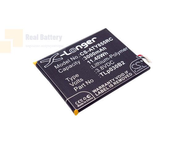 Аккумулятор CS-ATY855RC для Alcatel One Touch Link Y855 3,8V 3000Ah Li-Polymer