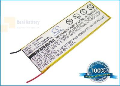 Аккумулятор CS-AVS6SL для Archos 5 250GB 3,7V 2600Ah Li-Polymer