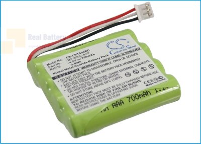 Аккумулятор CS-CRT500RC для Crestron MT-500C 4,8V 700Ah Ni-MH