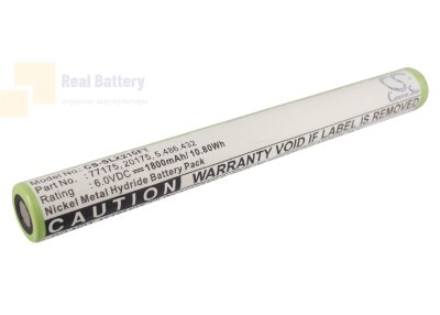Аккумулятор CS-SLX210FT для Streamlight SL20X-LED 6V 1800Ah Ni-MH