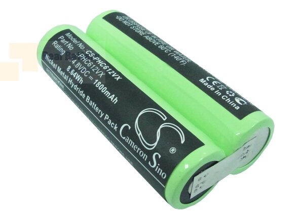 Аккумулятор CS-PHC612VX для Philips FC6125 4,8V 1800mAh Ni-MH