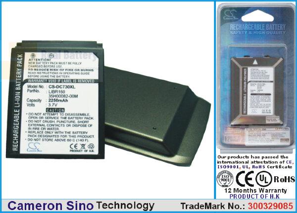 Аккумулятор CS-DC730XL для SoftBank X02HT 3,7V 2250Ah Li-ion