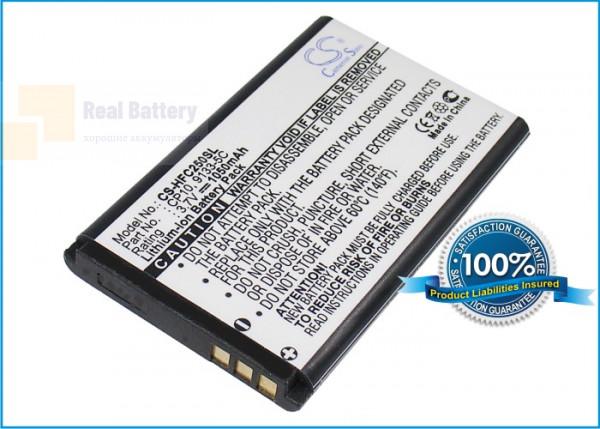 Аккумулятор CS-HFC250SL для Tiptel 6010 3,7V 1050Ah Li-ion