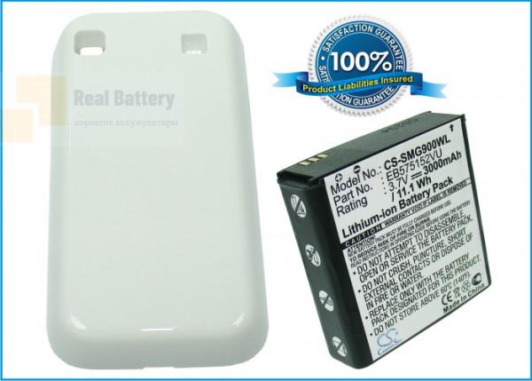 Аккумулятор CS-SMG900WL для T-Mobile Vibrant 3,7V 3000Ah Li-ion