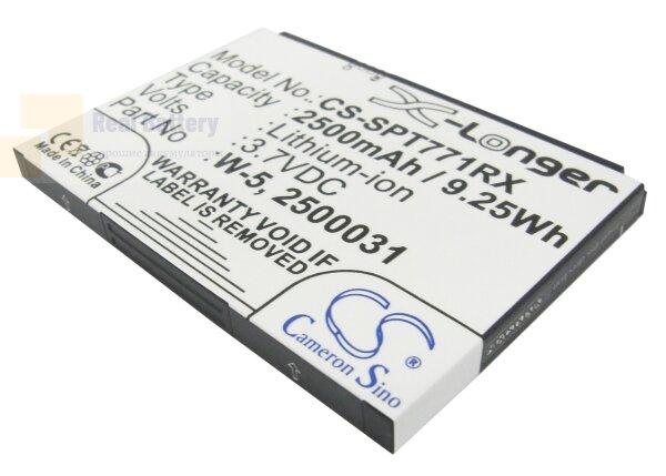 Аккумулятор CS-SPT771RX для Sprint AirCard 770S 3,7V 2500Ah Li-ion