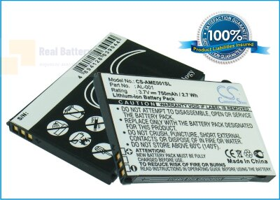 Аккумулятор CS-AME001SL для AMOI AL-001 3,7V 750Ah Li-ion