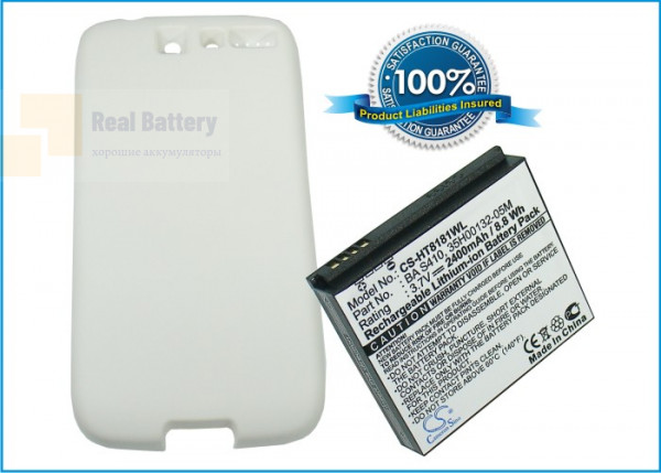 Аккумулятор CS-HT8181WL для SoftBank X06HT 3,7V 2400Ah Li-ion