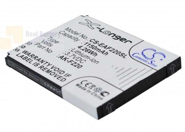 Аккумулятор CS-EAF220SL для Tiptel Ergophone 6060 3,7V 1150Ah Li-ion