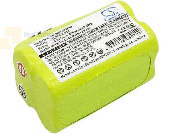 Аккумулятор для Makita 6722D 4,8V 2Ah Ni-MH CS-MKT672PW
