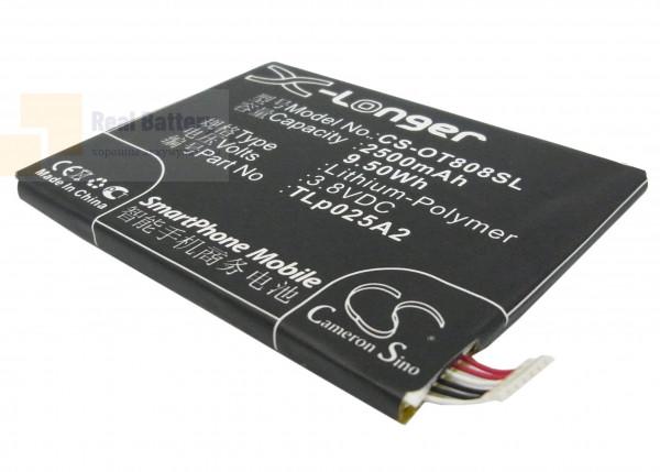Аккумулятор CS-OT808SL для TCL J920 3,8V 2500Ah Li-Polymer