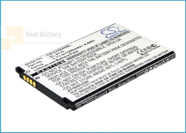 Аккумулятор CS-LVS840SL для Verizon Cayman 3,7V 1200Ah Li-ion