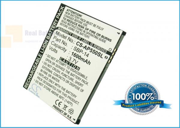 Аккумулятор CS-AP550SL для Vodafone 1520 plus 3,7V 1550Ah Li-ion