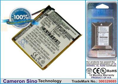 Аккумулятор CS-MPSF460SL для SanDisk Sansa SMDX10R-8192K-P70 3,7V 600Ah Li-Polymer