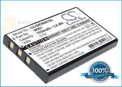 Аккумулятор CS-BKW001SL для Belkin F1PP000GN-SK 3,7V 1050Ah Li-ion