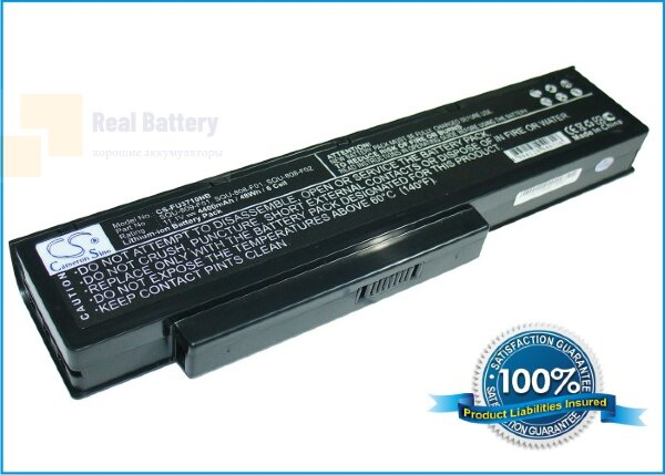 Аккумулятор CS-FU3710NB для Fujitsu Amilo Li3710  11,1V 4400mAh Li-ion
