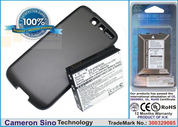 Аккумулятор CS-HT8181XL для T-Mobile Bravo 3,7V 2400Ah Li-ion