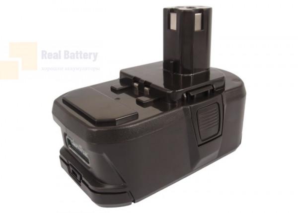 Аккумулятор для Ryobi BID-1801M 18V 3Ah Li-ion CS-RTB104PW