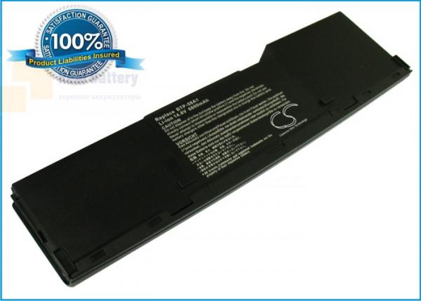 Аккумулятор CS-ATP55NB для Advent 4047 14,8V 6600mAh Li-ion