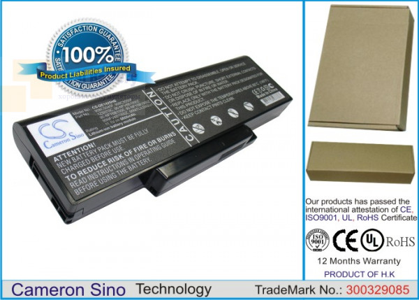 Аккумулятор CS-DE1425HB для DELL Inspiron 1425  11,1V 6600mAh Li-ion