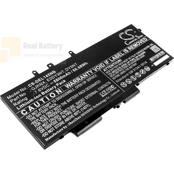 Аккумулятор CS-DEL145NB для DELL Latitude 14 5491  7,6V 8800mAh Li-ion