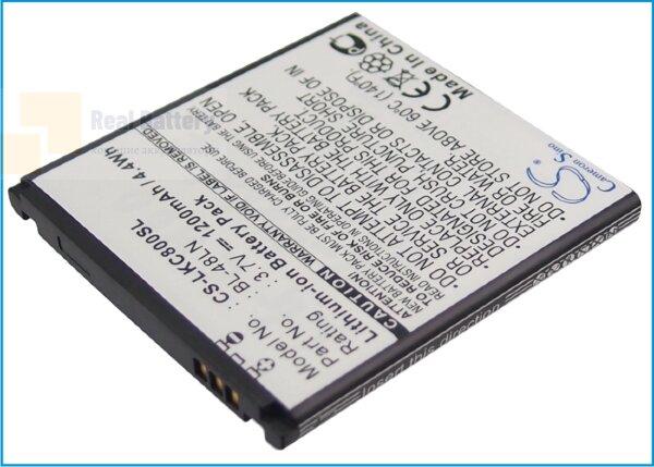 Аккумулятор CS-LKC800SL для T-Mobile myTouch Q 3,7V 1200Ah Li-ion