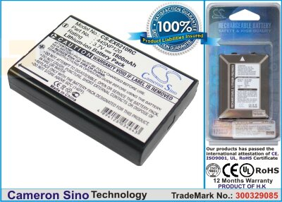 Аккумулятор CS-EX6210RC для Aluratek CDM530AM-3G 3,7V 1800Ah Li-ion