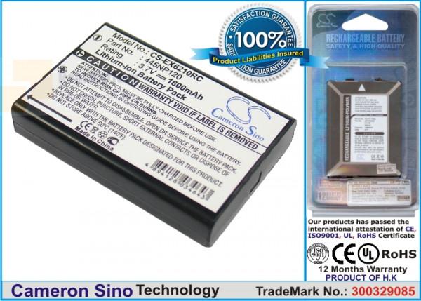 Аккумулятор CS-EX6210RC для Aluratek CDM530AM-3G 3,7V 1800Ah Li-ion
