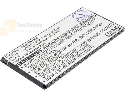 Аккумулятор CS-ZTV910SL для ZTE T9 3,7V 3400Ah Li-ion