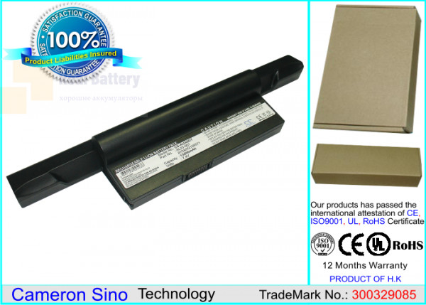 Аккумулятор CS-AUA9DT для Asus Eee PC 1000  7,4V 13000mAh Li-ion