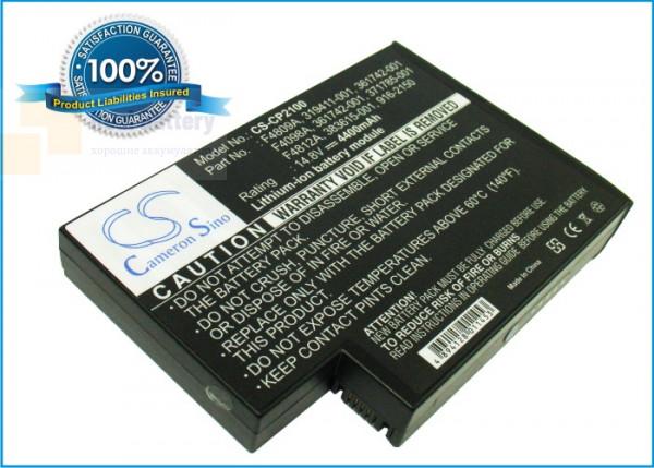 Аккумулятор CS-CP2100 для Compaq avilion ZE5634US-DU916U  14,8V 4400mAh Li-ion