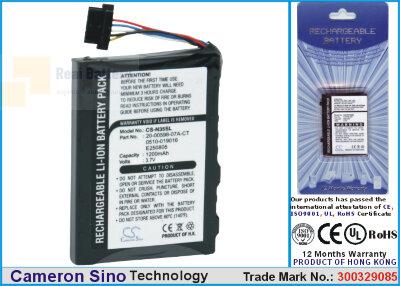 Аккумулятор CS-N35SL для Typhoon MyGuide 3600 3,7V 950Ah Li-ion