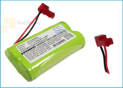 Аккумулятор CS-ECA086RC для Earmuff 5455086 2,4V 2000Ah Ni-MH
