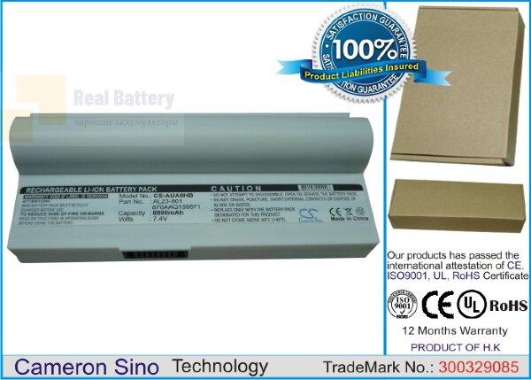 Аккумулятор CS-AUA9HB для Asus Eee PC 1000  7,4V 8800mAh Li-ion