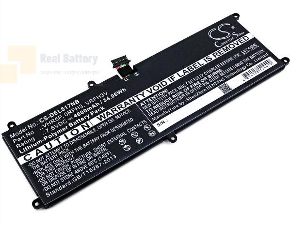 Аккумулятор CS-DEL517NB для DELL Latitude 11 5175  7,6V 4600mAh Li-Polymer