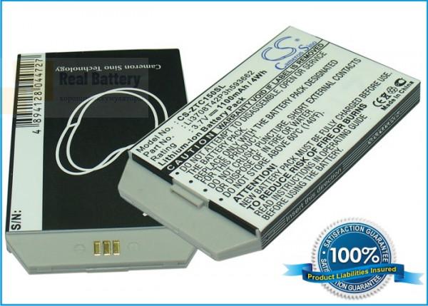 Аккумулятор CS-ZTC150SL для ZTE C150 3,7V 1100Ah Li-ion