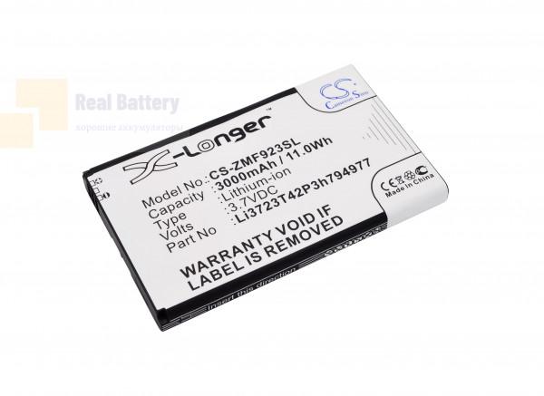Аккумулятор CS-ZMF923SL для AT&T Velocity 4G LTE 3,7V 3000Ah Li-Polymer