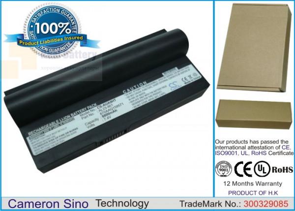 Аккумулятор CS-AUA9HT для Asus Eee PC 1000  7,4V 8800mAh Li-ion