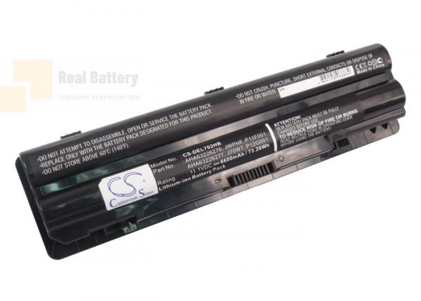Аккумулятор CS-DEL702HB для DELL XPS 14  11,1V 6600mAh Li-ion