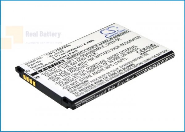 Аккумулятор CS-LVS840SL для Sprint LS840 3,7V 1200Ah Li-ion
