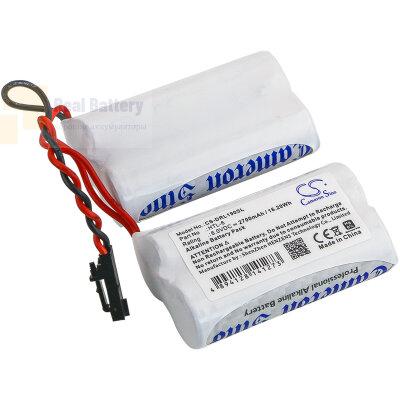 Аккумулятор CS-DRL190SL для SafLok 6800121 6V 2700Ah Alkaline