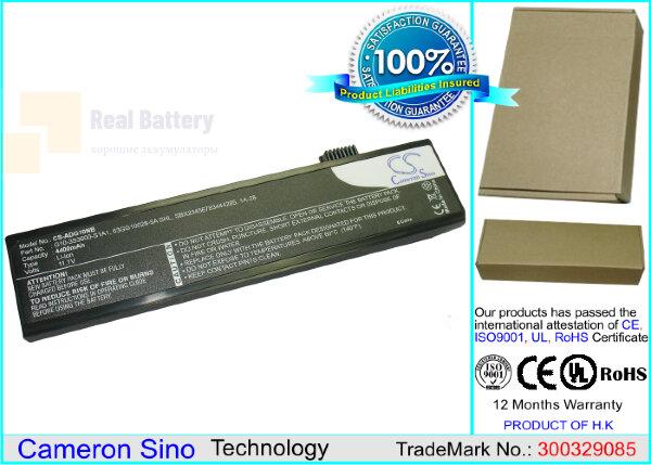 Аккумулятор CS-ADG10NB для Advent 4213 11,1V 4400mAh Li-ion