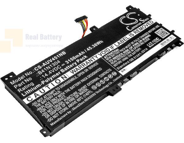 Аккумулятор CS-AUV451NB для Asus VivoBook V451LA  14,4V 3150mAh Li-Polymer