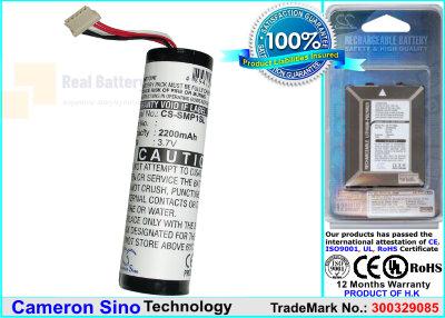 Аккумулятор CS-SMP1SL для Sony HMP-A1 3,7V 2200Ah Li-ion