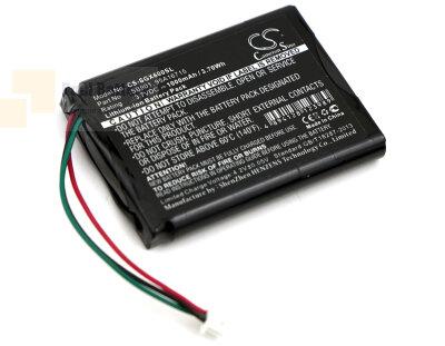 Аккумулятор CS-SGX600SL для SHURE MXW1 3,7V 1000Ah Li-ion