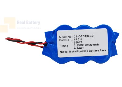 Аккумулятор CS-DEC400BU для Gateway Solo 2300 7,2V 20Ah Ni-MH
