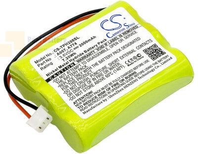 Аккумулятор CS-TPH200SL для TPI HXG-2D 3,6V 2000Ah Ni-MH