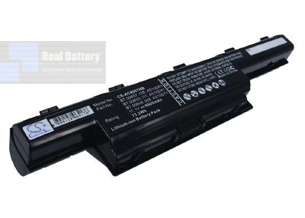 Аккумулятор CS-AC4551HB для Acer Aspire 4250  11,1V 6600mAh Li-ion