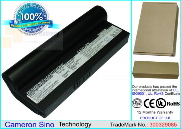 Аккумулятор CS-AUA9NT для Asus Eee PC 1000  7,4V 6600mAh Li-ion